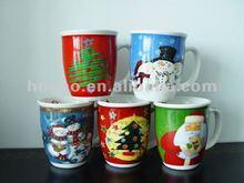 2012 Hot Sale 14oz Stainless Steel Ceramic Coffee Mug
