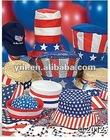 2014 Fashion Patriotic Party Hat Assortment