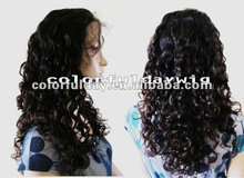 2012 new arrival !!! natural straight natural color malaysian hair lace front wig