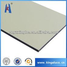 bead board paneling/aluminum composite panel