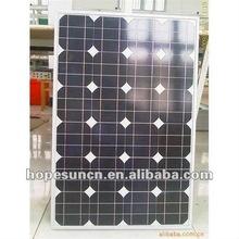 100 watt PV solar panel 100w