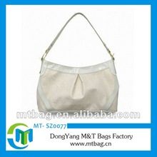 White color snake skin PU Leather bags fashion 2012