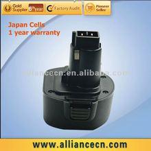 9.6V 2000mAh Power tool battery for BLACK & DECKER A9251 FSB96 PS120