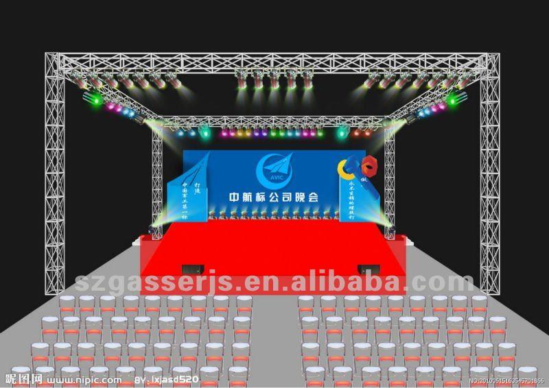 Digital Backdrops For Stage Big Stage Digital Print