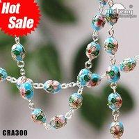 2012 new handmade fashion cloisonne jewelry chain