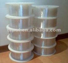 transparent waterproof PMMA plastic fiber optic light for illumination and decoration