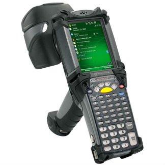 Pda tipo símbolo MC9190-G de mano RFID lector de recopiladores de datos Terminal punto de venta portátil