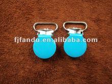 Round shape suspender adjustable clips