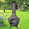 Cast Iron Outdoor Chiminea