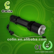 high power cree rechargeable flashlight led