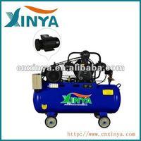 XINYA ac 100L 8bar 4hp 65mm cylinder B-type ac piston gas belt driven air compressor price(XY3065B-100D)