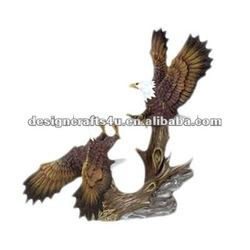 resin flying eagle sculptures