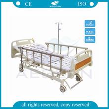 AG-BM107 Best selling hospital metal frame durable ward bed