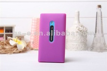HOT Gel Rubber Rubberized Case For Nokia Lumia 800 Protector Cover