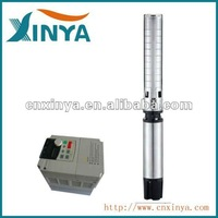 XINYA 6 inch 7.5kw 360V stainless steel impeller solar submersible water pump system with panels for home use(6SPSC18-7)