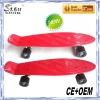 HOT! new pattern board face custom penny board skate board.peny cruiser.mini plastic fizzboard with colored wheel and truck