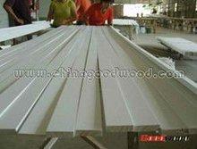 White Primed Radiate Wood S4S Pine Lumber