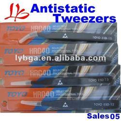 Hot Sale BGA tweezer Antistatic tweezers (6 sizes/set) For Repair Use