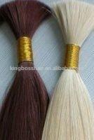 light colour chinese remy human hair bulk