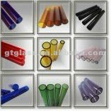 Borosilicate color glass tube