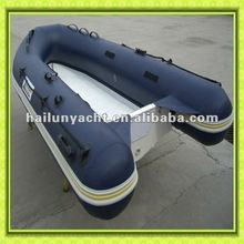 inflatable fiberglass fishing outboard boat (HLB330)