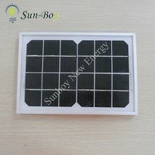 Monocrystalline 6V 3W Solar Panel