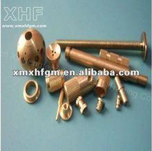 Brass fastener and screw