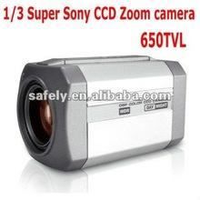 Car mini bullet camera 650TVL sony 1/3'' CCD DSP Zoom camera