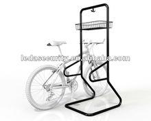 Dual Bike Rail and Basket