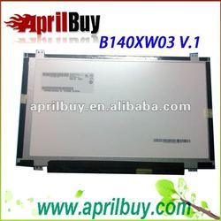 Wholesale Laptop LED Screen AUO B140XW03 V0 1366*768