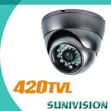 """420TVL 1/3""""SONY CCD Dome Camera NTSC/PAL 3.6mm Lens"""