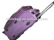 2012 fashion purple trolley luggage