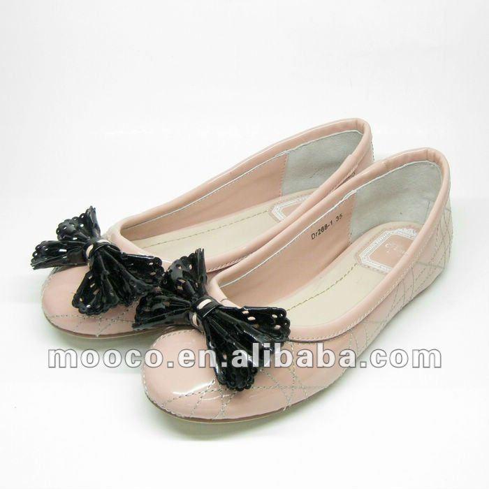 Nuevos estilos de cuero de la marca de las muchachas zapatos de vestir