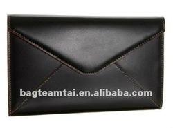 Black leather envelope laptop sleeves tablet case