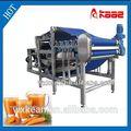 el jugo de manzana cinturón de prensa de la máquina para uso industrial