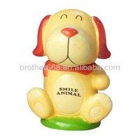 cheap novelty customized dog shape child toy/action figure