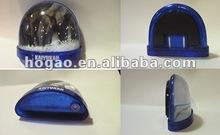 plastic fridge magnet water globe