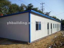 prefabricated concrete pre made office trailer houses