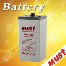 Nice Appearance 2v 300ah agm vrla battery 2 volt deep cycle batteries