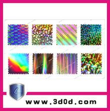 Anti-fake Security Hologram Label 2012