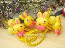 children plastic Cute rabbit multicolor hair band