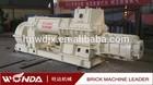 JZK50 Vacuum Extruder Clay Brick Making Machine Price!!