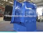 Q3210 series tumble belt auto shot blasting machine, wheel blast machine, sand blast room