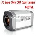 650 líneas de tv sony 1/3'' ccd y dsp 36x seguridad digital de color ccd de la cámara con zoom