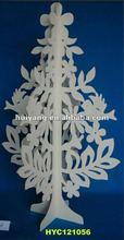 2012 new designed wooden laser carving chrismas tree