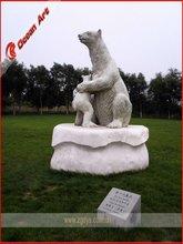 Fiberglass animal for park decoration