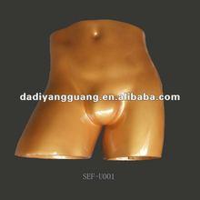Male fiberglass hip and butt contour form,panty form