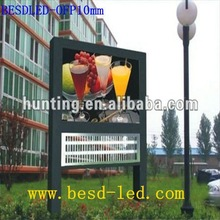 outdoor full color led with High definition high Precision led screen module P10