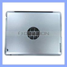 Aluminium Bluetooth Keyboard for iPad 2 iPad 3 4000mAh Charger Case