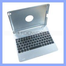 Keyboard Cover for iPad 2 Aluminium Bluetooth Keyboard Case for iPad 3